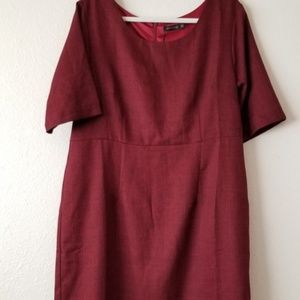 Mikarose Burgundy Dress NWT 2XL